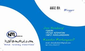 name card hafizmohd.com #SBB2013