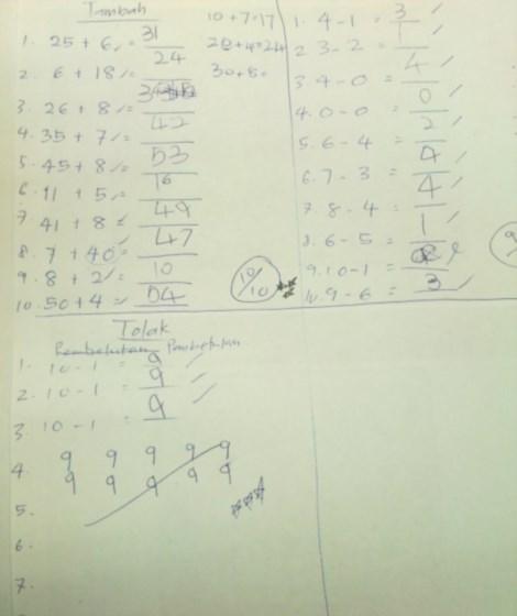 tips ajar anak bijak matematik cara mudah