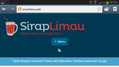 contest review sirap limau