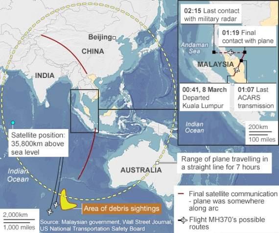 berita terkini kehilangan mh370