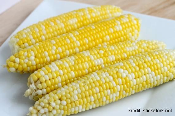 tips kuruskan badan dengan jagung rebus