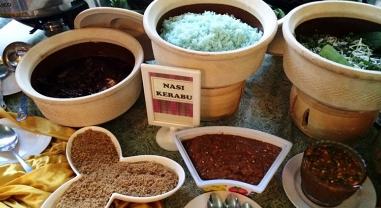 buffet ramadhan casa ombak menu kampung nasi kerabu terbaik