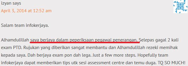 contoh soalan exam online penolong pegawai penerangan s27