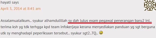contoh soalan peperiksaan online s27 2014