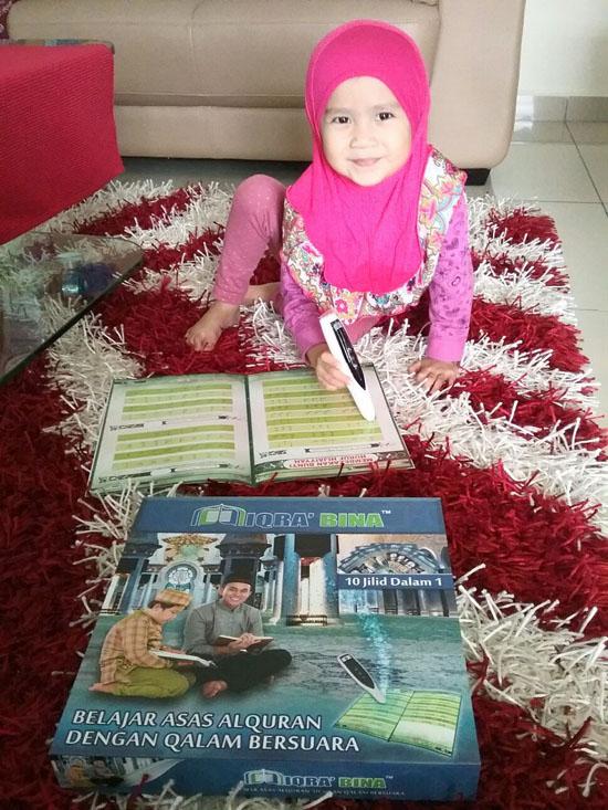 Belajar Asas Al-Quran dengan Iqra' Bina