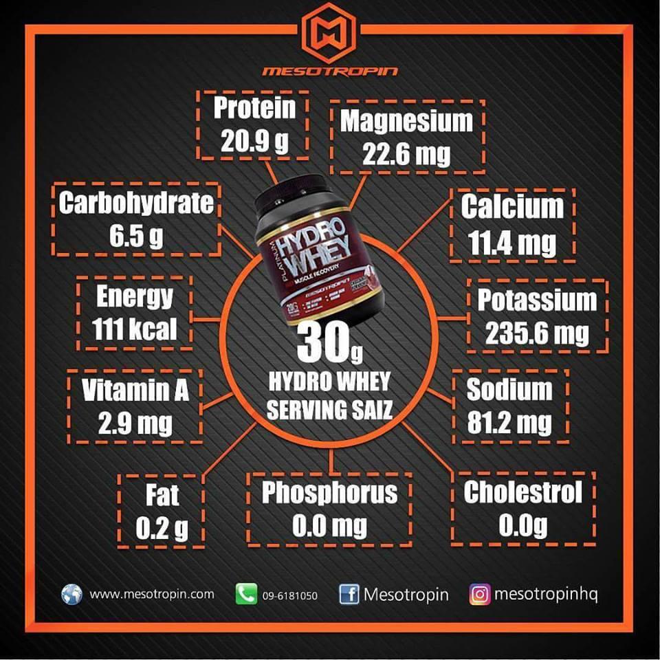 testimoni hydro whey protein mesotropin